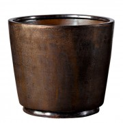 Кашпо Deroma Crystal Vaso black rust